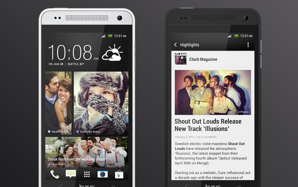 HTC One Mini PSD