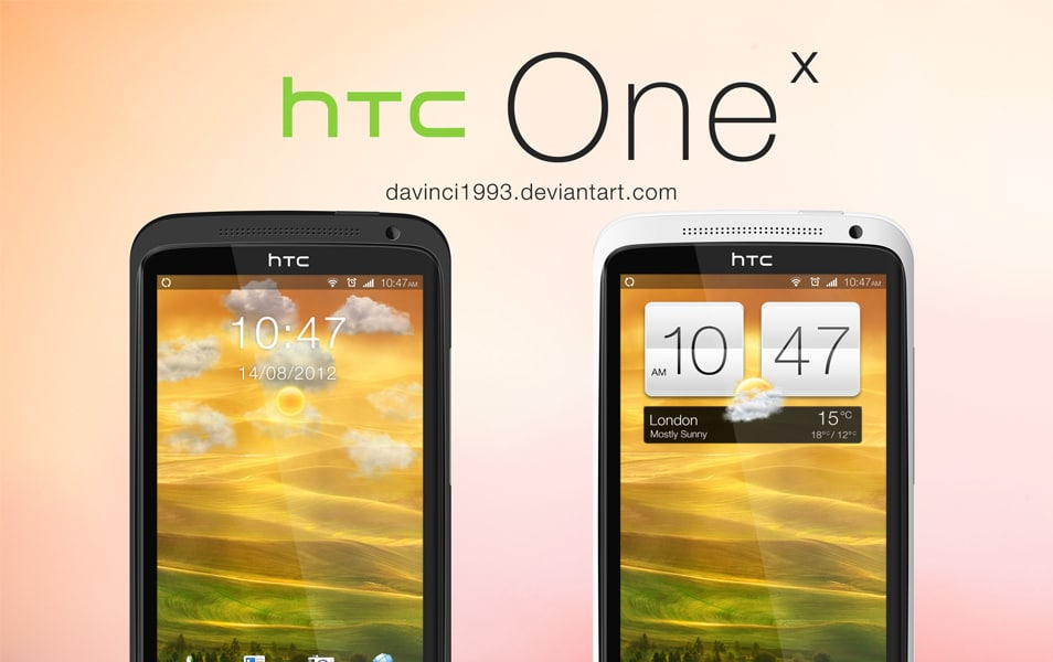 HTC One X PSD