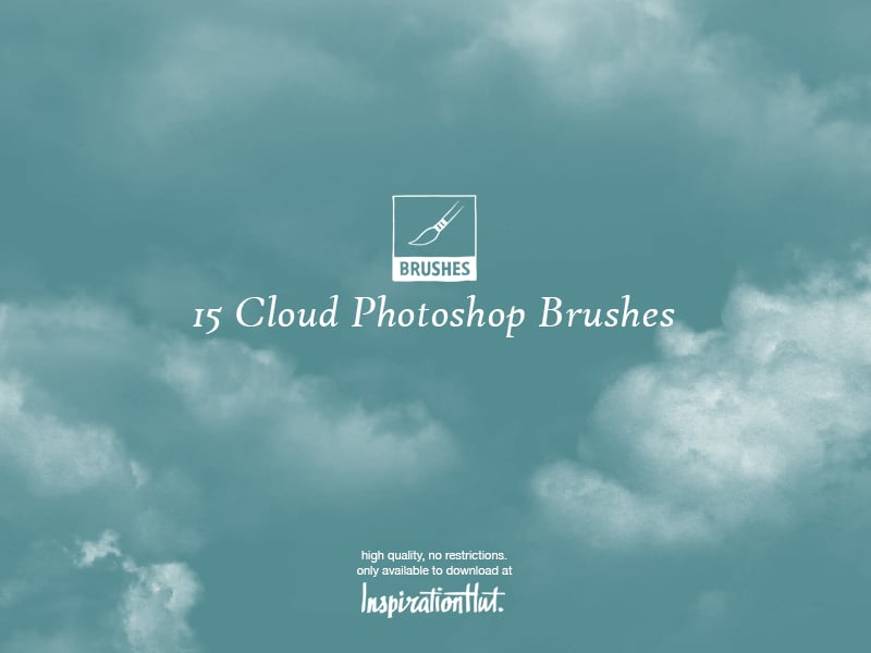 High Quality Cloud Photoshop Brushes