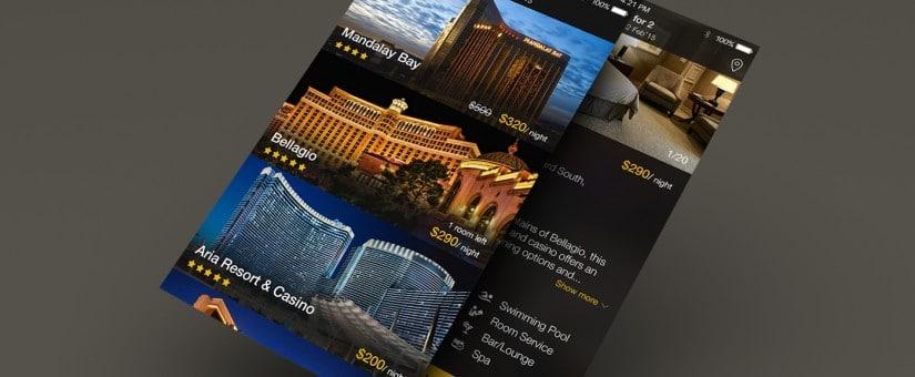 Hotel App GUI PSD