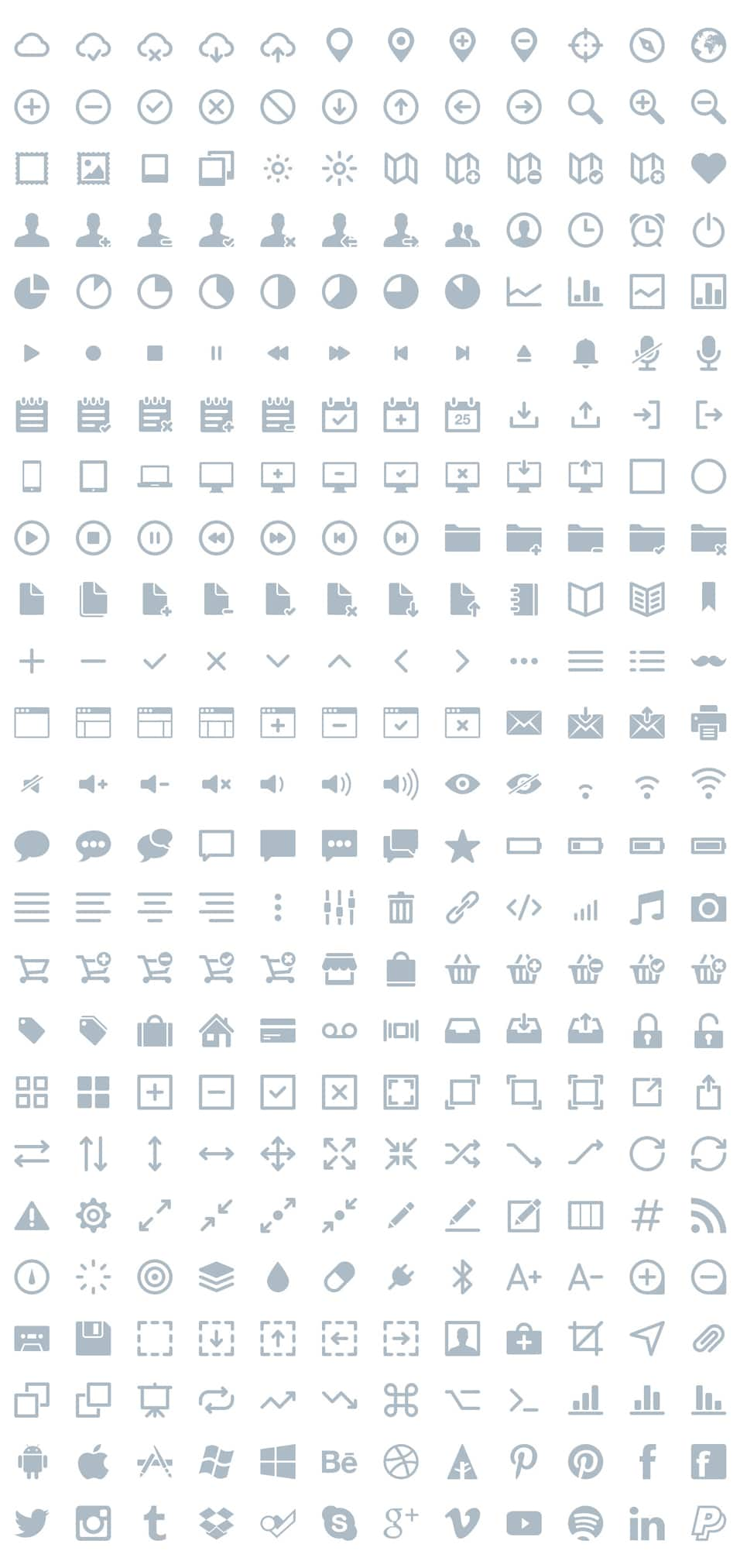 Ikons Vector Icons