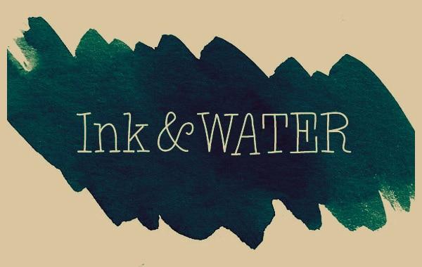 Ink and Water Photoshop Brush Set