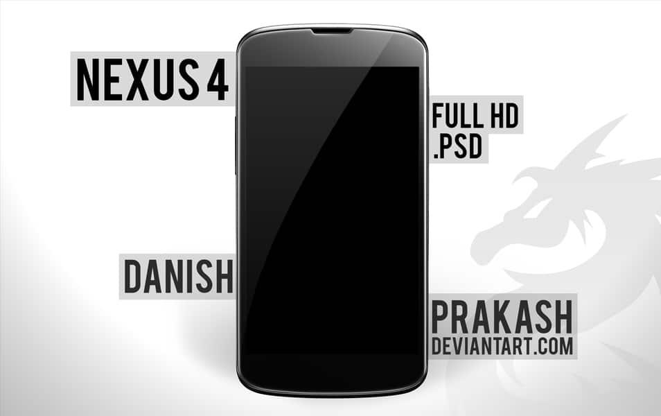 LG Nexus 4 PSD