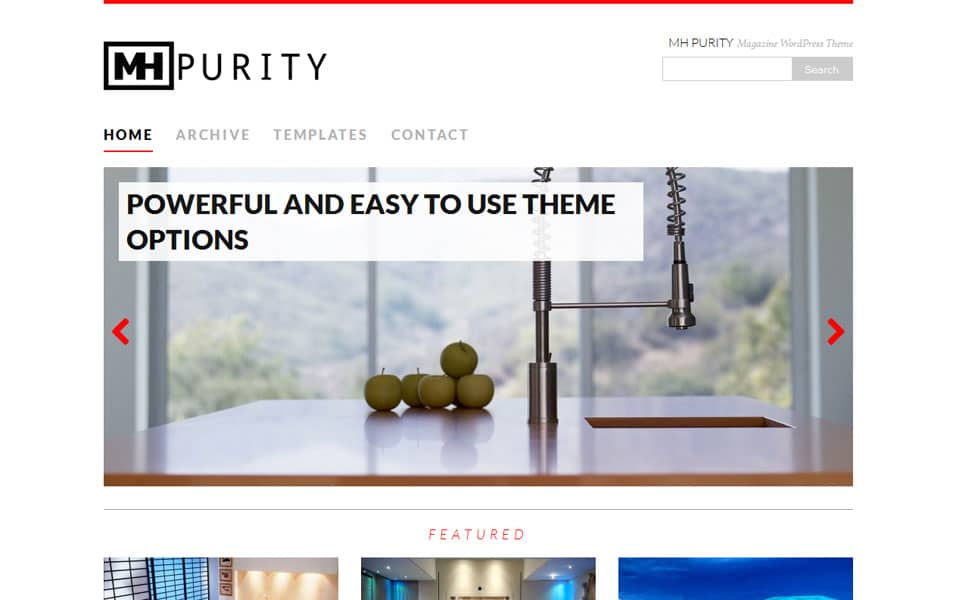 MH Purity lite - Free Magazine WordPress Theme