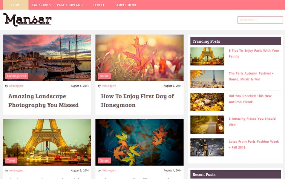 125+ Free Responsive Magazine WordPress Themes 2018 » CSS Author