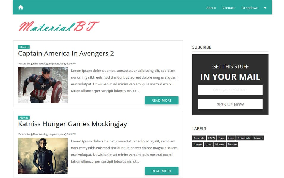 200 best free responsive blogger templates for Free blogger templates