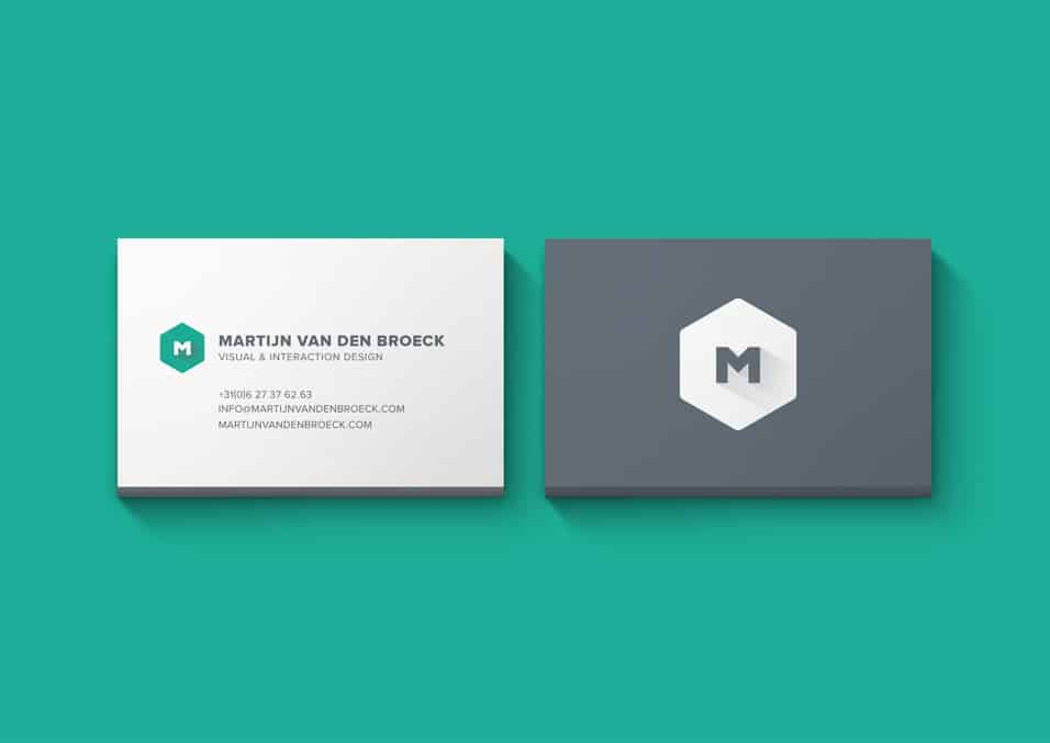 Minimal Business Cards Mockup