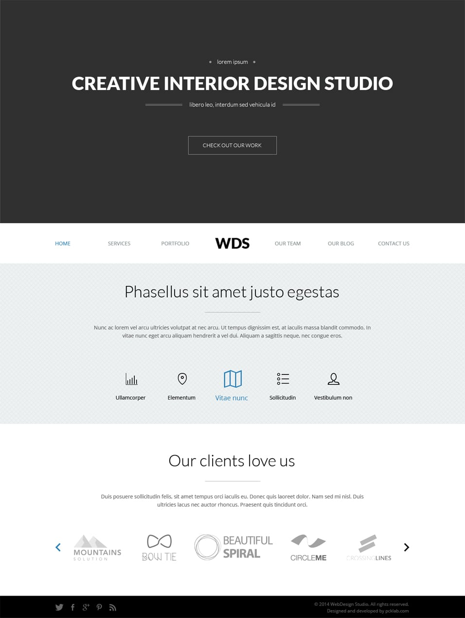 Modern Corporate Website Template