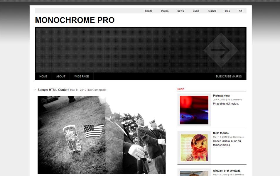 Monochrome Pro