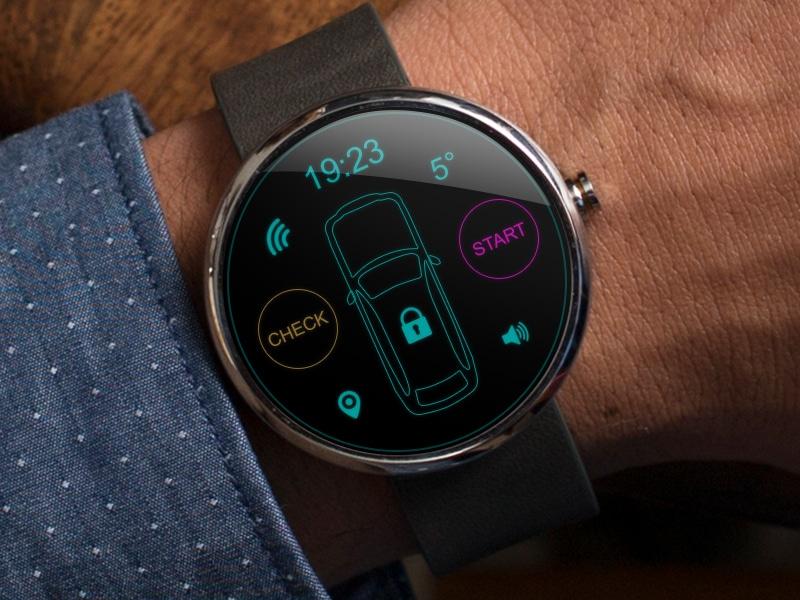 Moto 360 Car Alarm App
