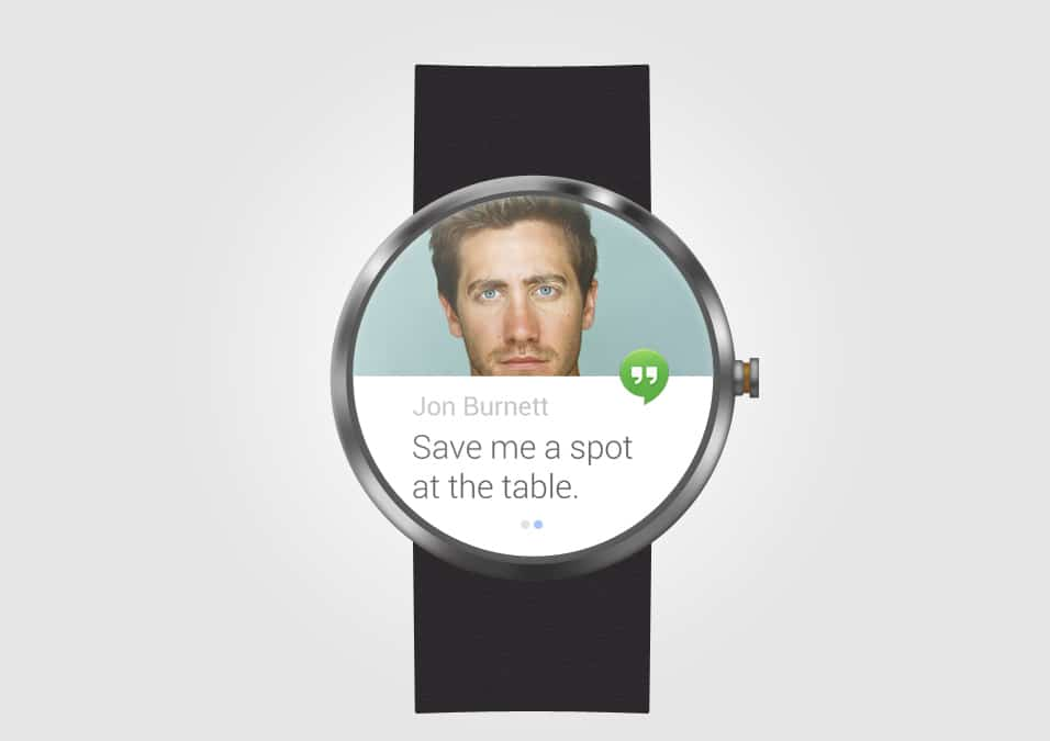 Moto 360 Mock Up PSD