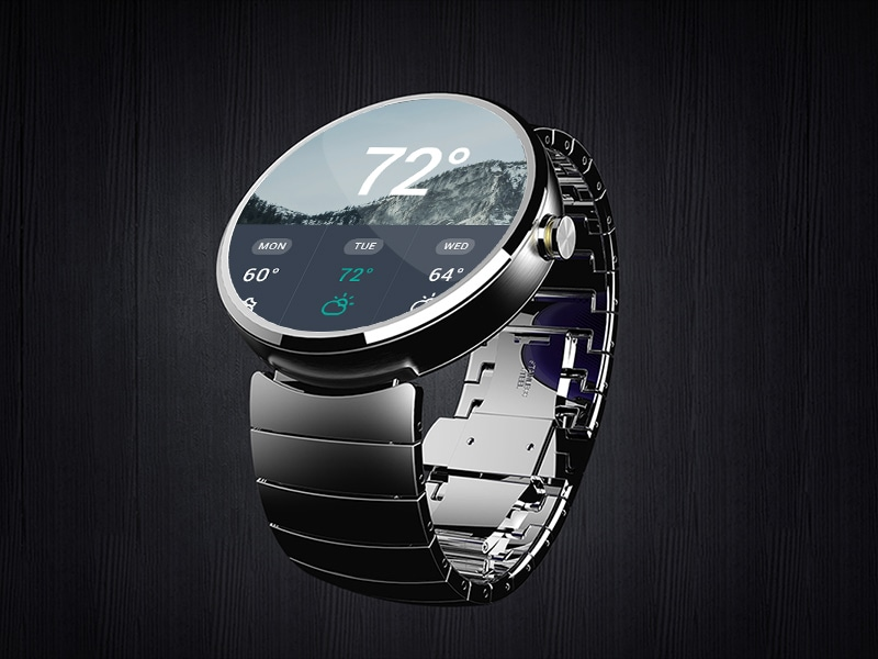 Moto 360 Mock Up