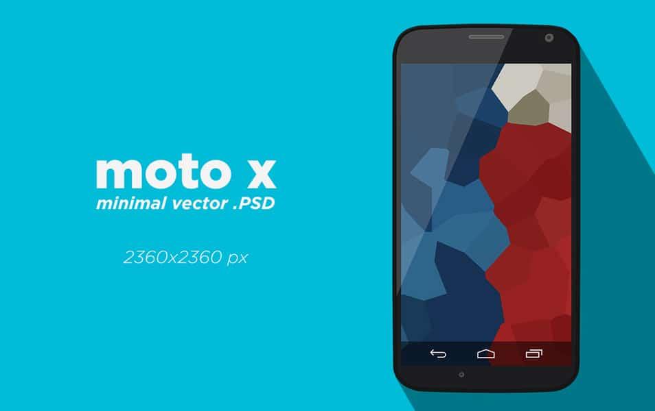 Moto X Vector PSD