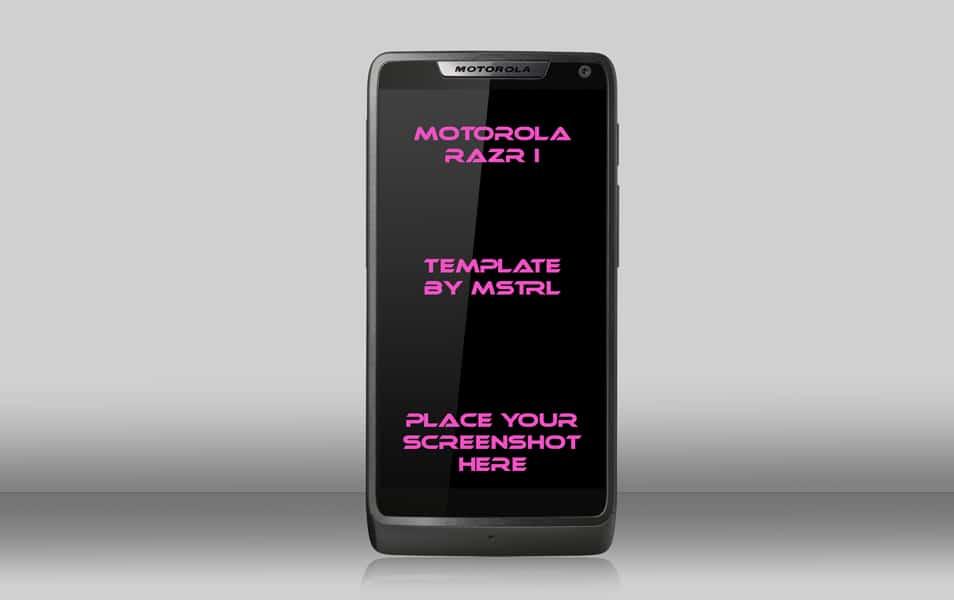 Motorola Razr I Template