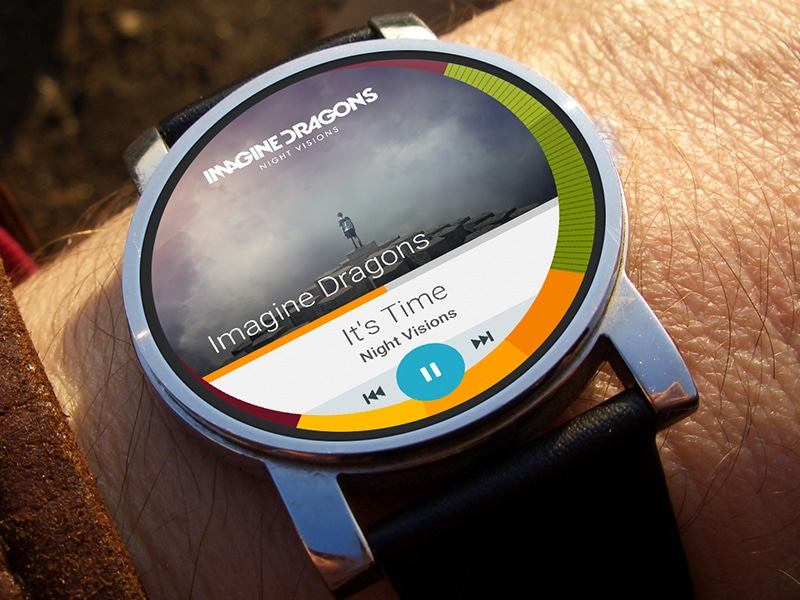 Music Player - Android Wear