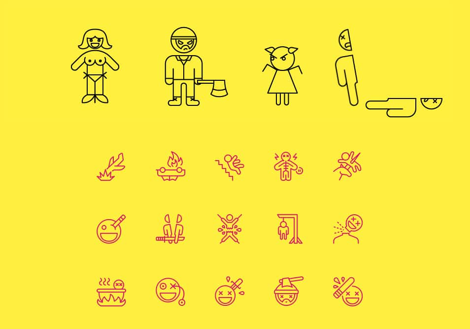 Nasty Icons: 50 Icons Set