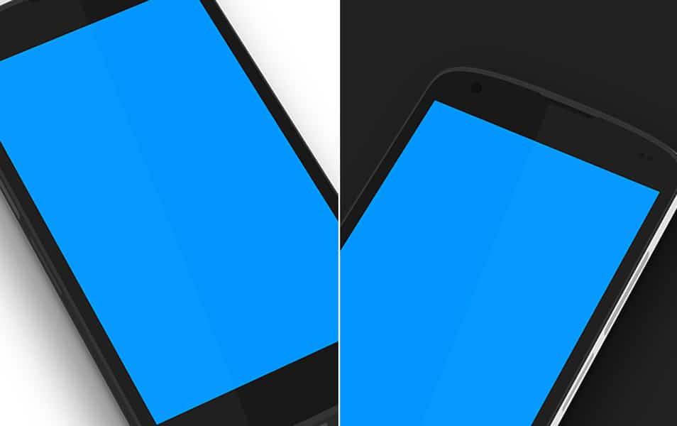 Nexus 4 Minimal 3D PSD