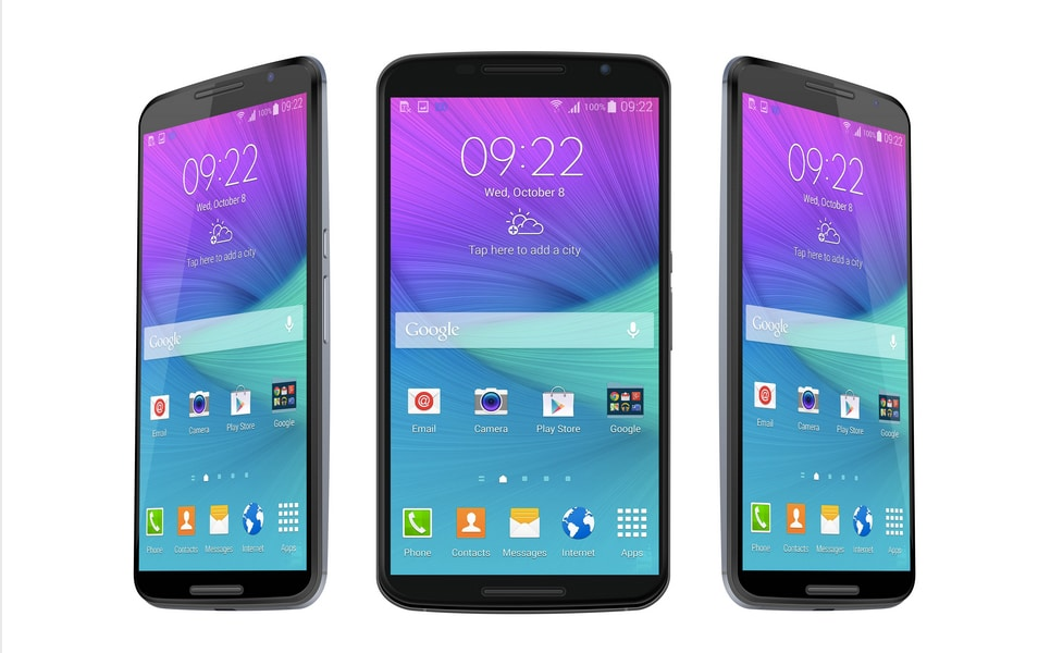 Nexus 6 Vector PSD MockUp