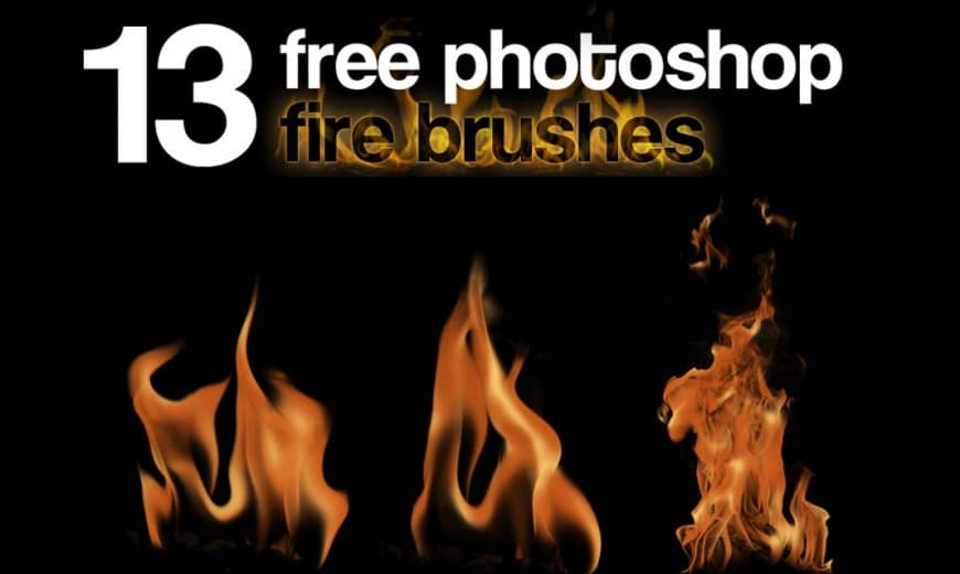 Nino Batitis – 13 Free Photoshop Fire Brushes