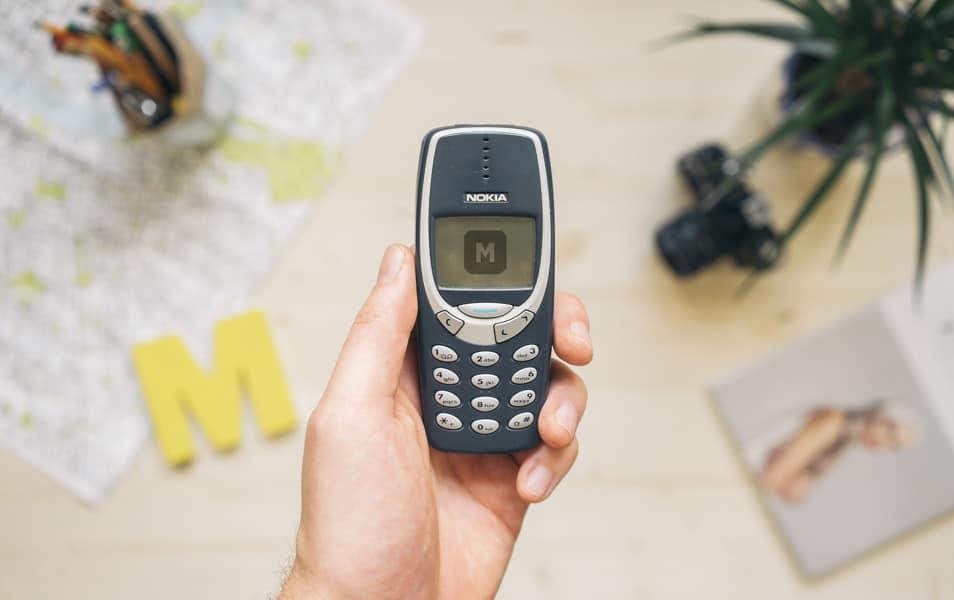 Nokia 3310 PSD Mockups
