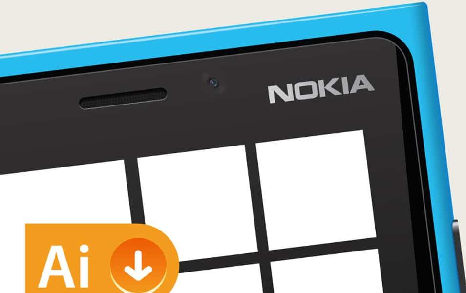 Nokia Lumia 920 - Vector Resource