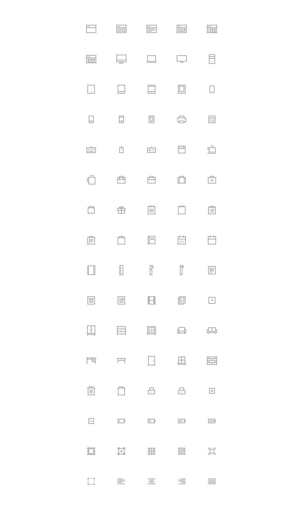 Pixelvicon Icon Set