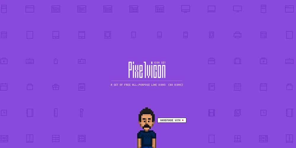 Pixelvicon Icons