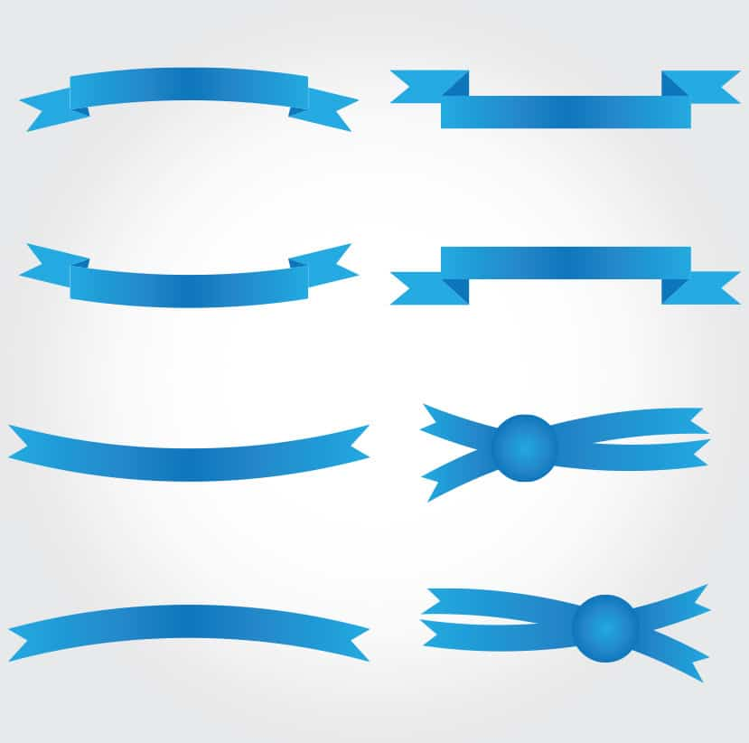 Ribbon Banner Vectors