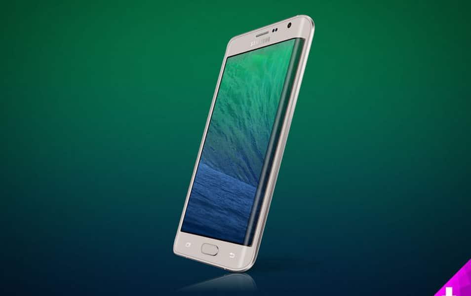 Samsung Galaxy Note 4 Edge Mockup