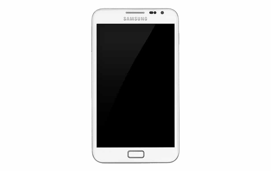 Samsung Galaxy Note PSD
