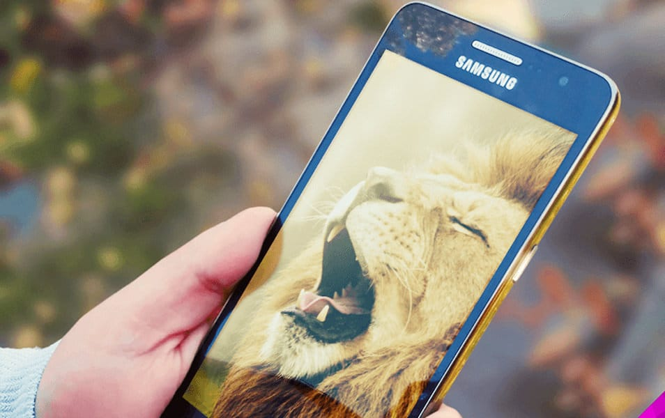 Samsung Galaxy Prime Mockup