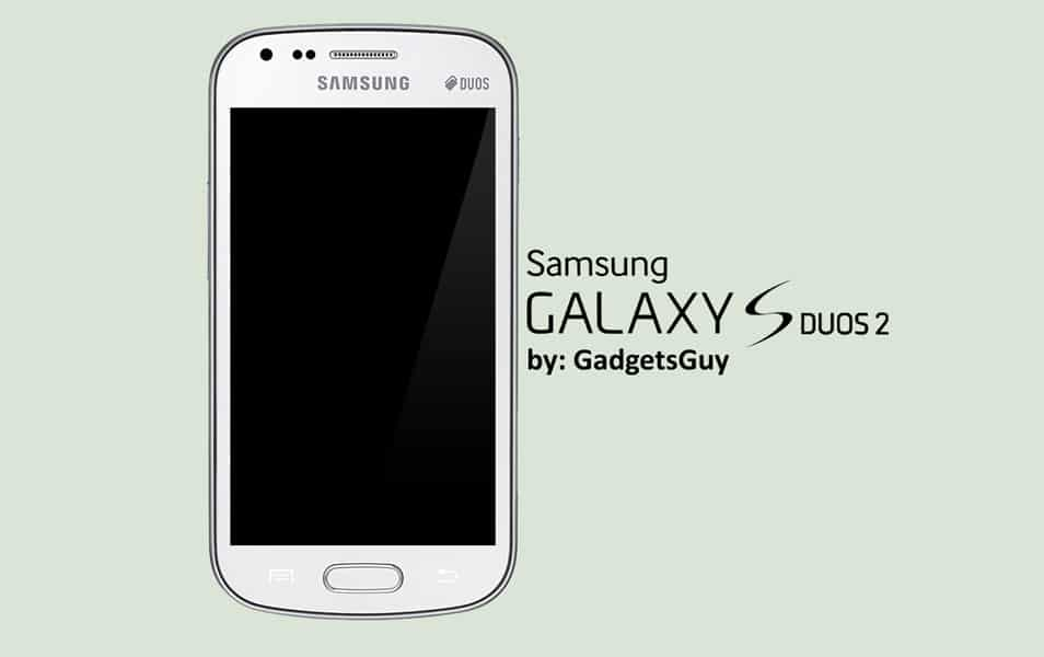 Samsung Galaxy S Duos 2 psd