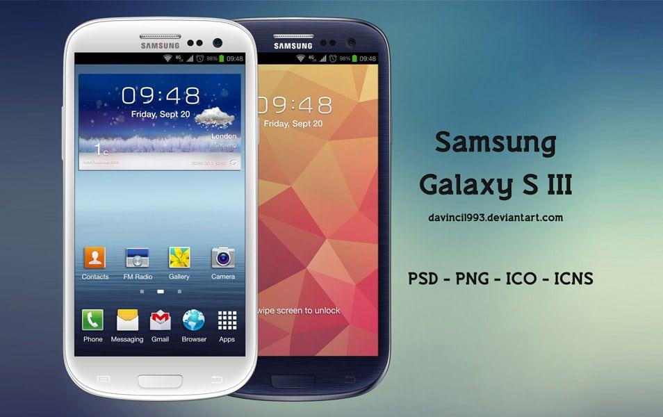 Samsung Galaxy S III PSD
