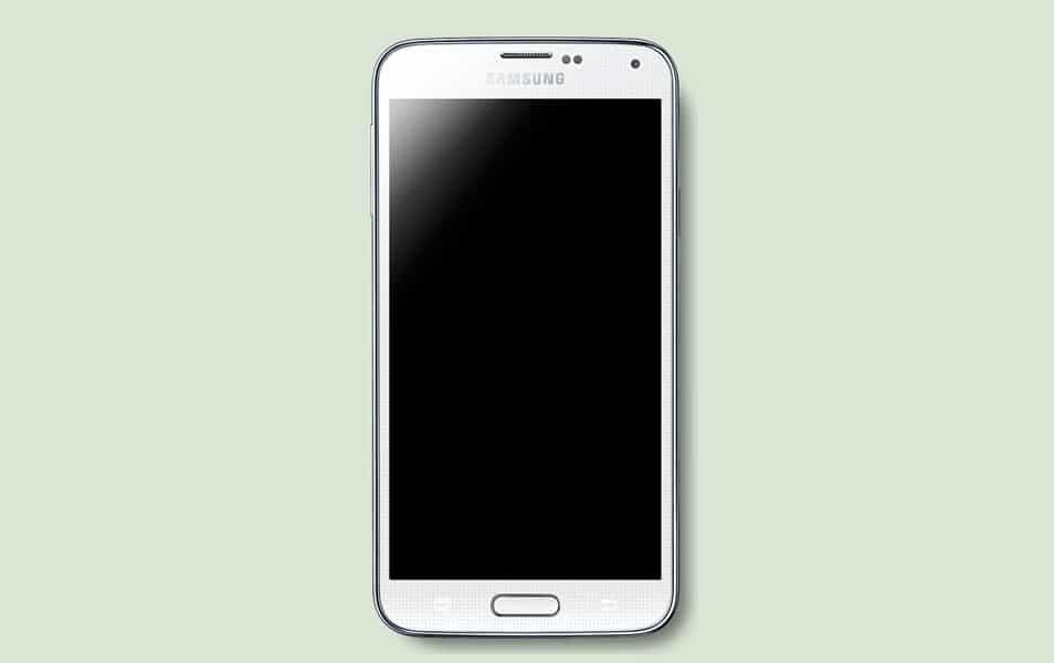 Samsung Galaxy S5 psd