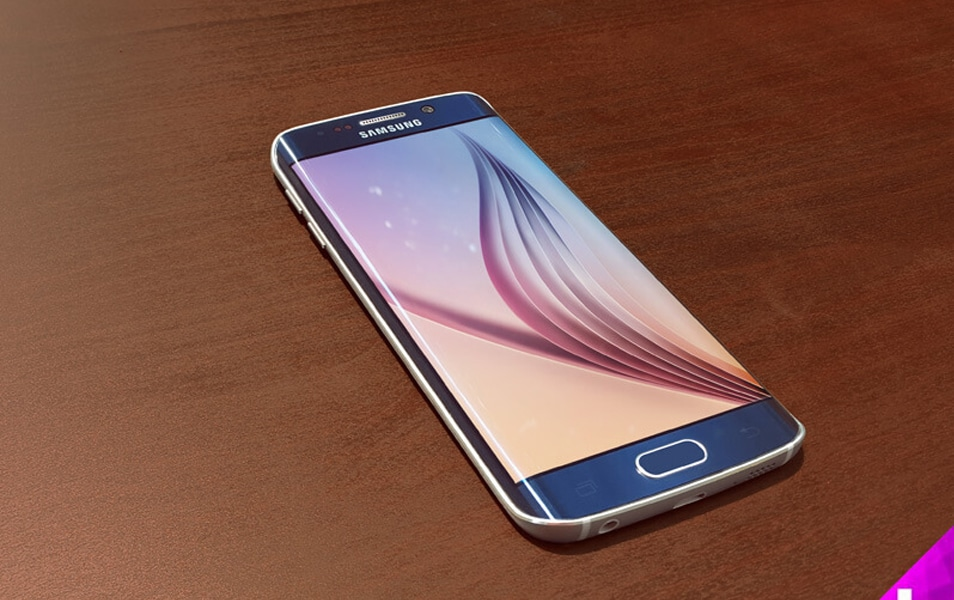 Samsung Galaxy S6 Edge Mockup