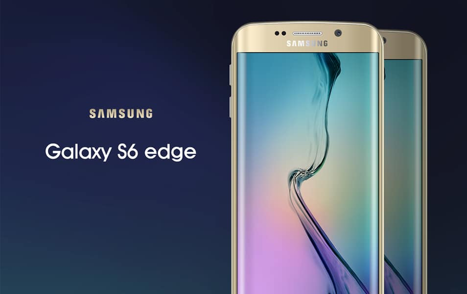 Samsung Galaxy S6 edge Mock-Up