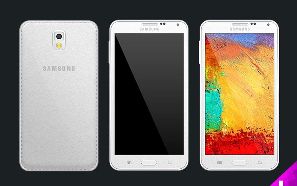 Samsung Note 3 psd