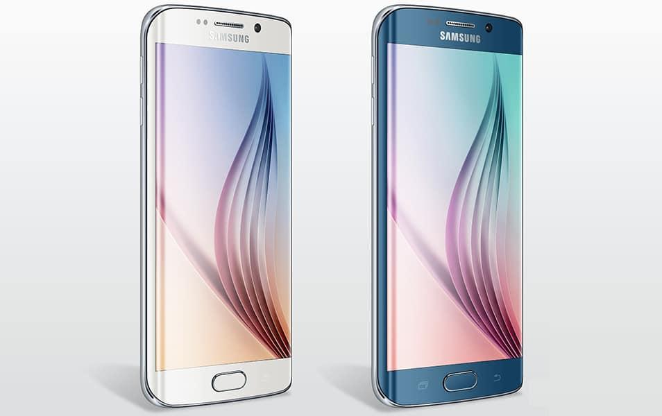 Samsung S6 Edge Mockup
