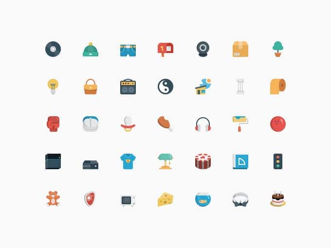 Smallicons 1.1(70 Icons)