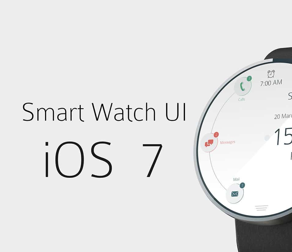 Smart Watch iOS 7