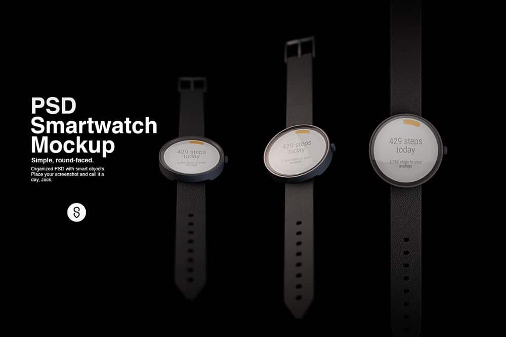 Smartwatch Mockup PSD