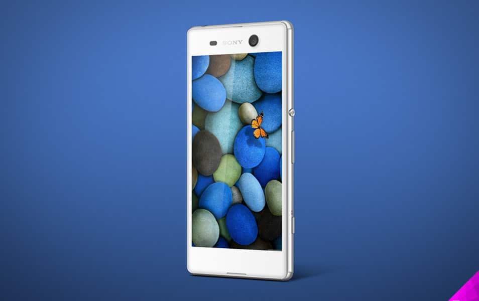 Sony Xperia M5 Mockup