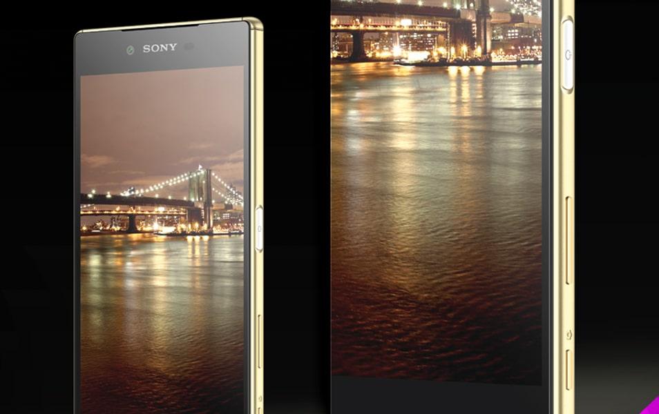 Sony Xperia Z5 Mockup