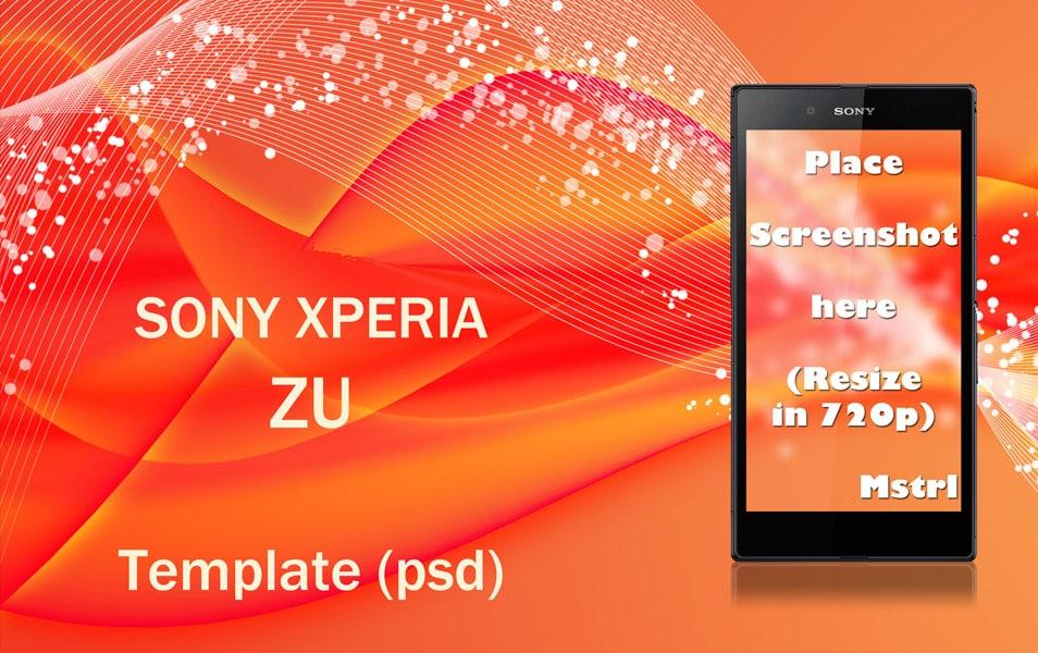 Sony Xperia ZU Template