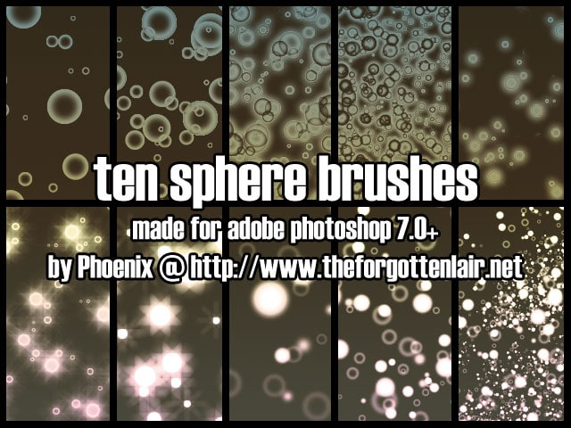 Sphere Brushes