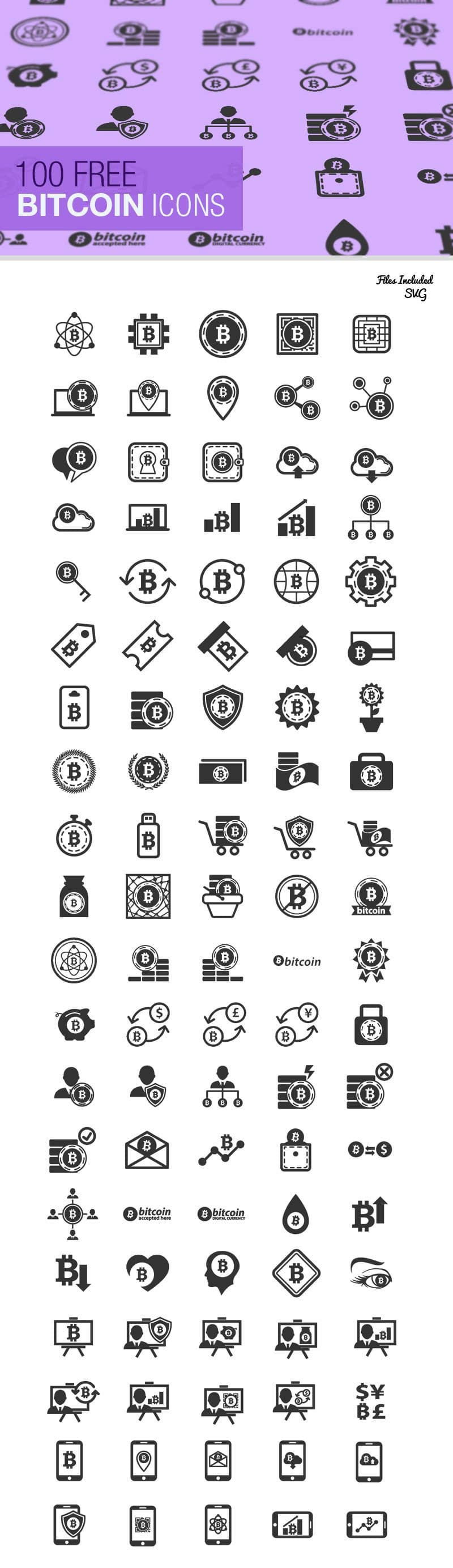 The Bitcoin Icon Set