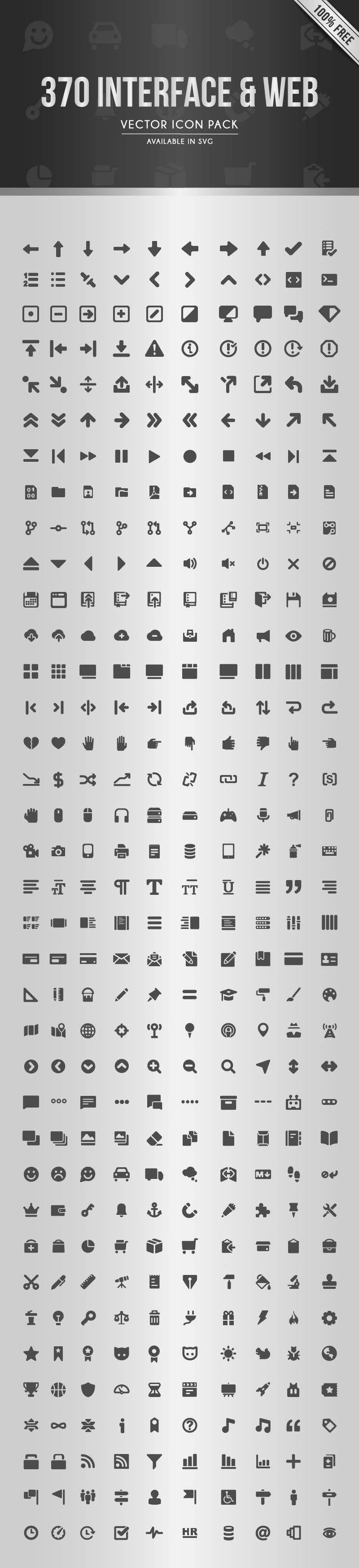 The Web Interface Icon Set