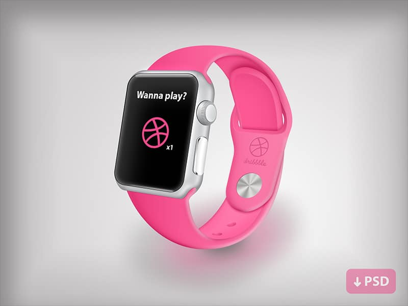 Vector Apple Watch PSD