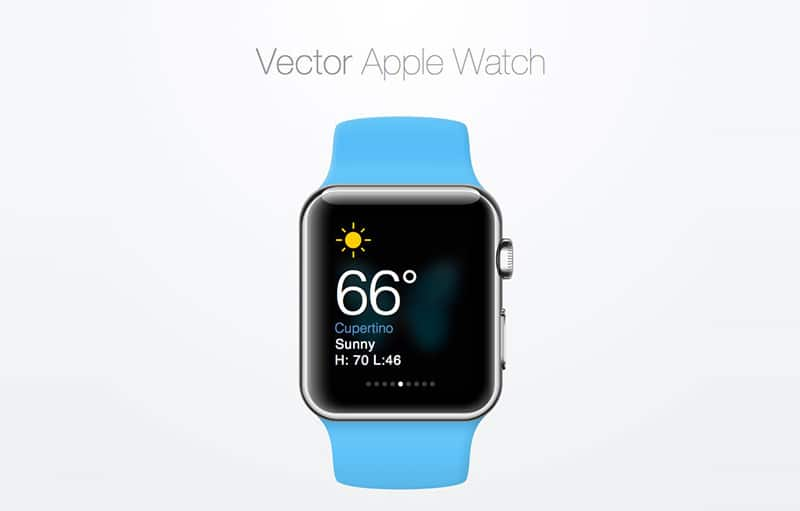 Vector Apple Watch