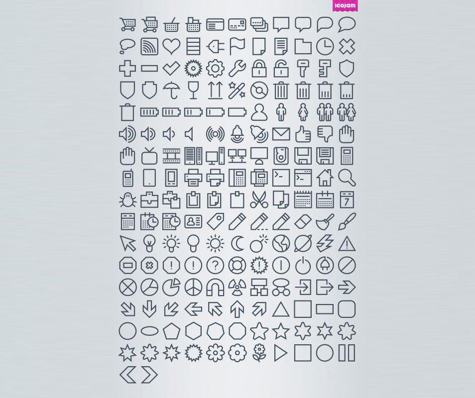 Vectory 1037 icons mini free